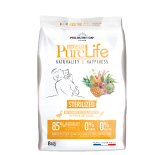 PURE LIFE FOR CATS sterilized 8kg (super-premium)