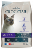 CROCKTAIL adult sterilized 8+  10kg (super-premium)