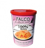FALCO CAT deluxe LOSOS KOUSKY 400g