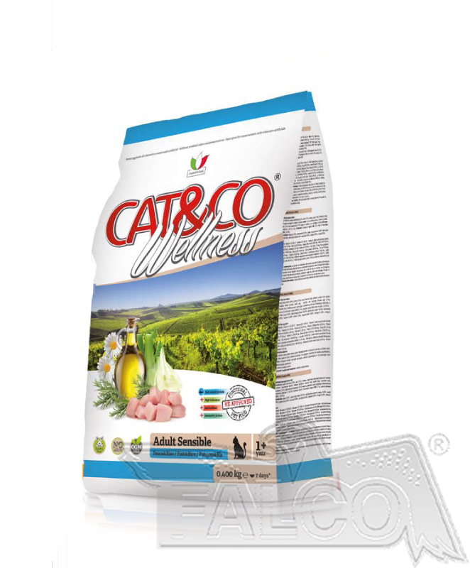 AKCE - CAT&CO wellness sensible 10kg (super-premium)