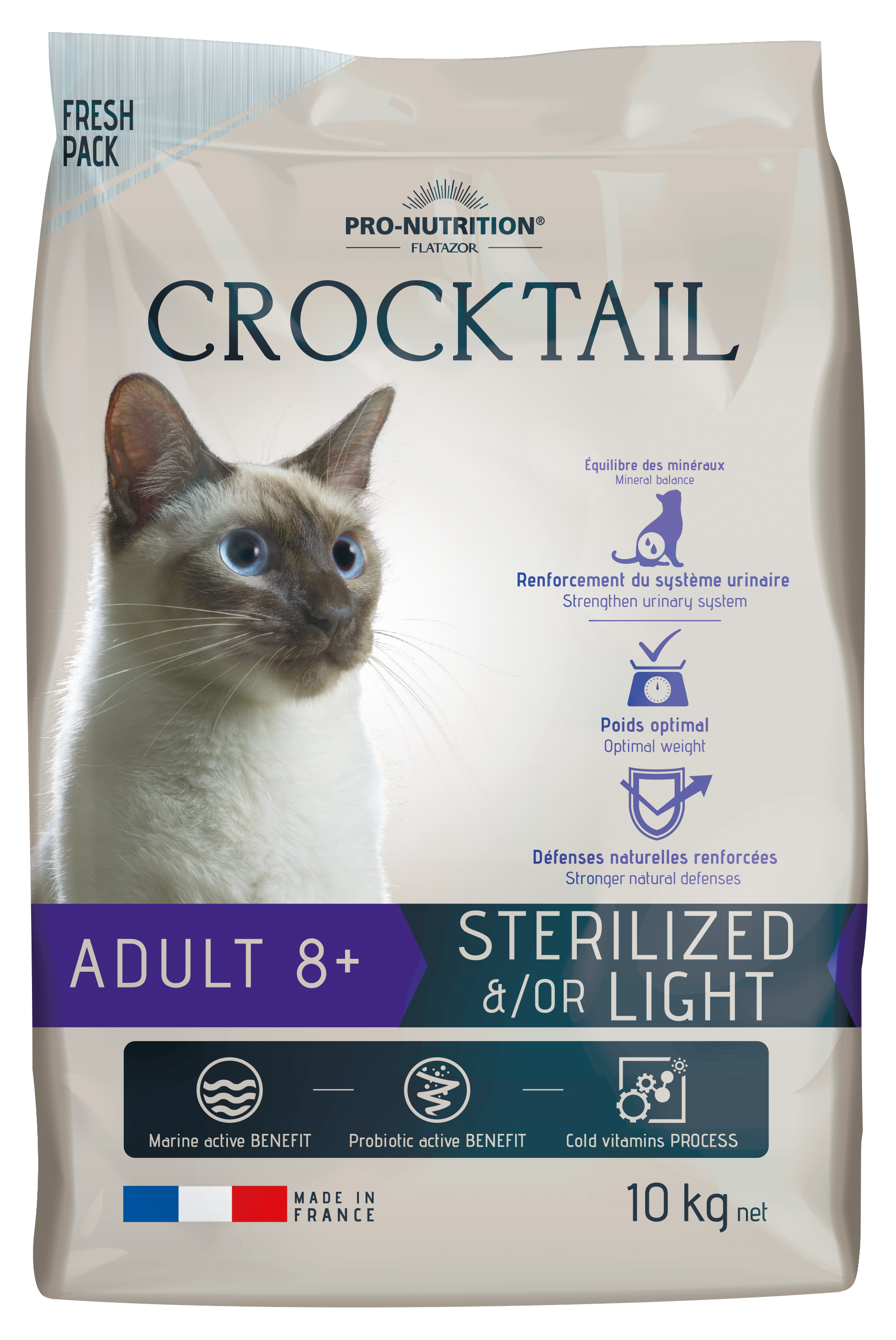 AKCE - CROCKTAIL adult sterilized 8+ (super-premium)