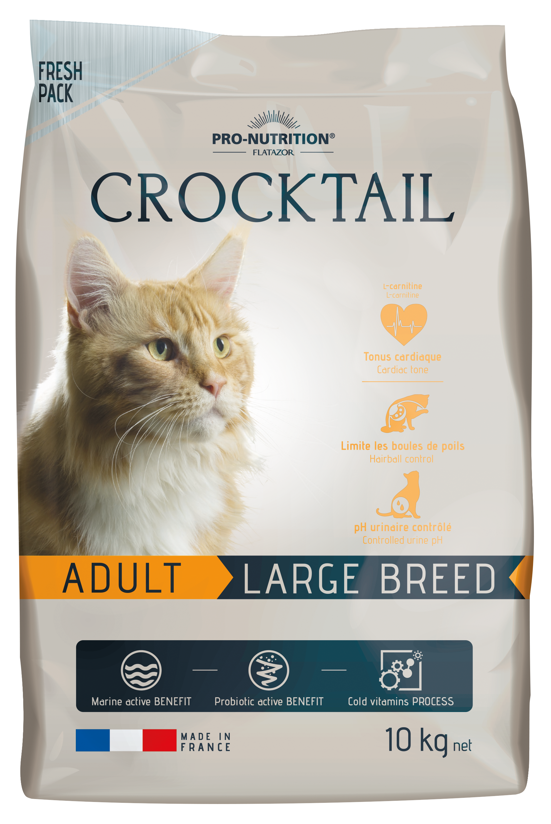 CROCKTAIL adult large breed 10kg (super-premium)