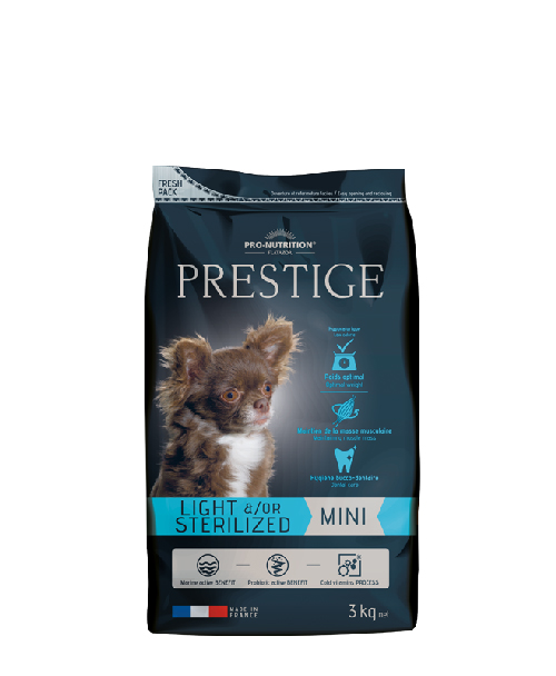 Flatazor PRESTIGE light/sterilized mini 3kg (super-premium)