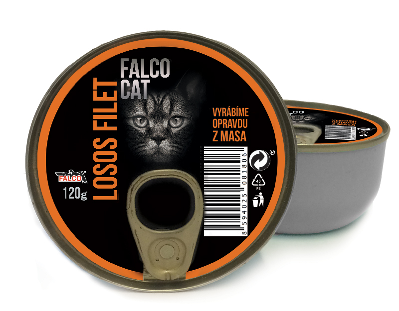 FALCO CAT losos filet 120g