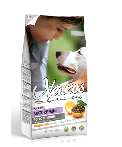 NAXOS MATURE ADULT MINI 7kg (super-premium)