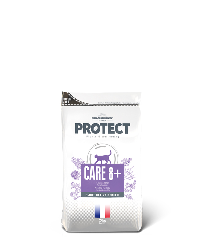 PROTECT cat care 8+ 2kg (super-premium)