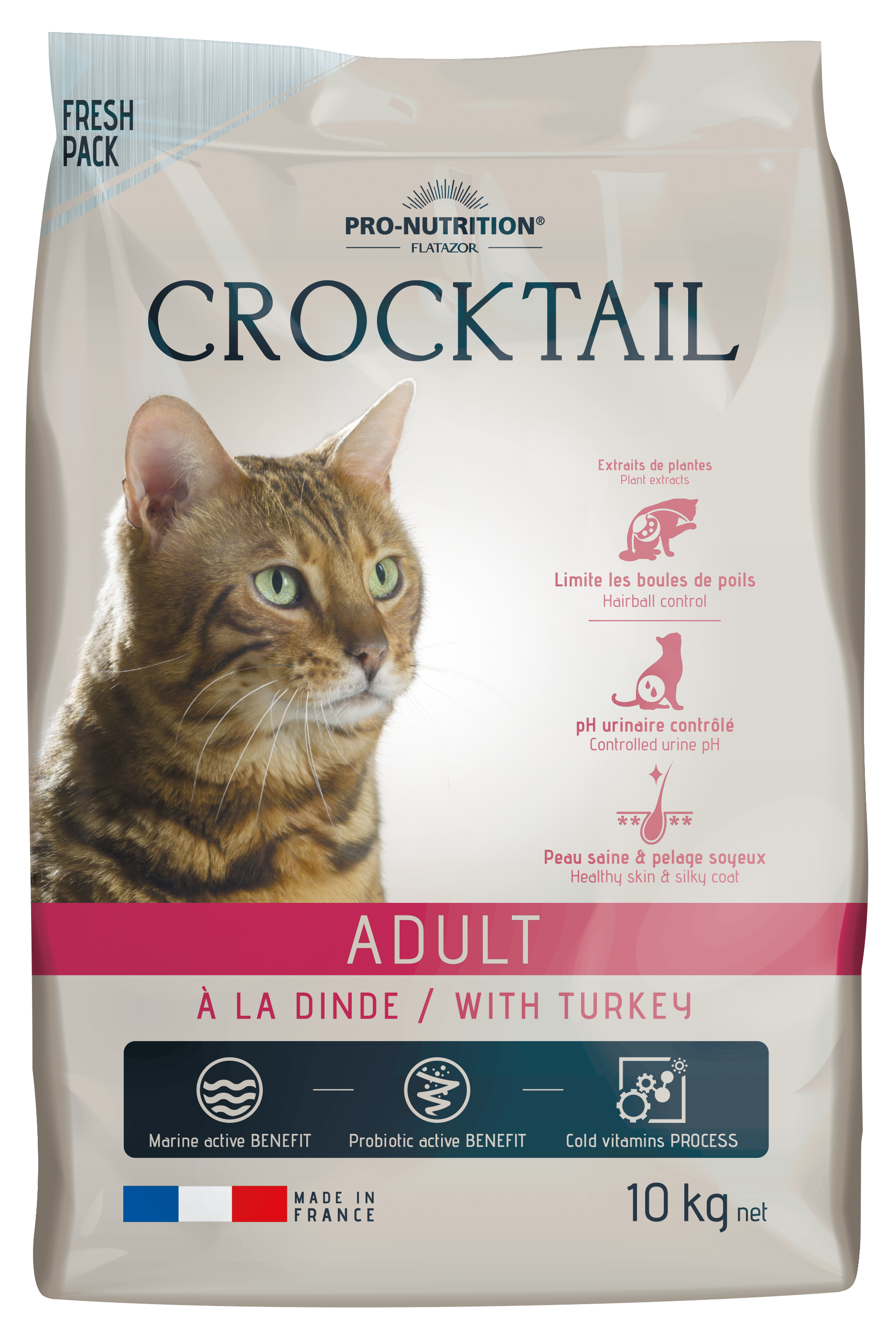 CROCKTAIL adult krůta 10kg (super-premium)
