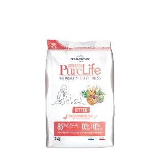 AKCE - PURE LIFE FOR CATS kitten 8kg (super-premium)