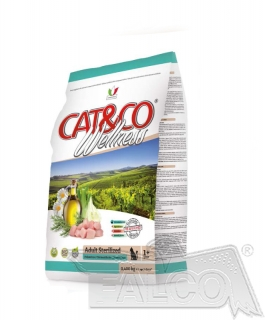AKCE - CAT&CO wellness sterilized 10kg (super-premium)