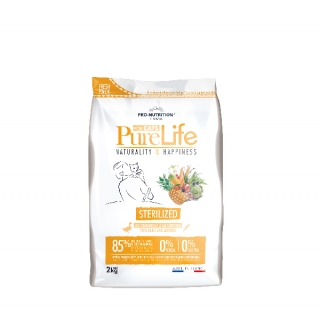 PURE LIFE FOR CATS sterilized 2kg (super-premium)