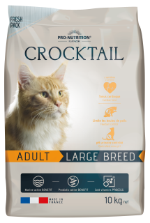 AKCE - CROCKTAIL adult large breed 10kg (super-premium)