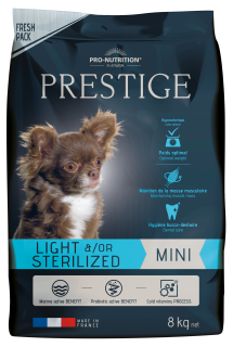 Flatazor PRESTIGE light/sterilized mini 8kg (super-premium)