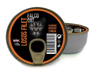 AKCE - FALCO CAT losos filet 120g