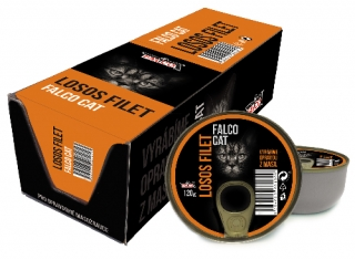 FALCO CAT losos filet 120g - BALENÍ 8ks