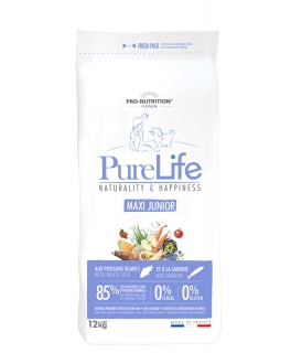 PURE LIFE junior maxi 12kg (super-premium) + DÁREK